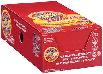 Jarlsberg® Minis Semi Soft Part-Skim Cheese 20-0.70 oz. Packs