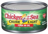 Chicken of the Sea® Chunk Light Tuna in Oil 12 Oz Can