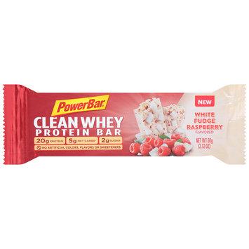 PowerBar® Clean Whey White Fudge Raspberry Flavored Protein Bar 2.12 oz. Wrapper