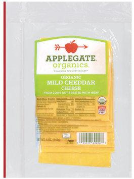 Applegate Farms Organic Mild Cheddar (Item Number 12692) Cheese 5 Oz Peg