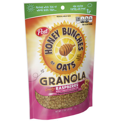 Honey Bunches of Oats Crunchy Raspberry Granola