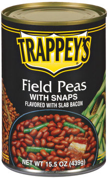 Trappey's Field W/Snaps Flavored W/Slab Bacon Peas 15.5 Oz Can