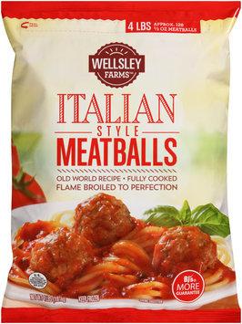 wellsley farms™ italian style meatballs