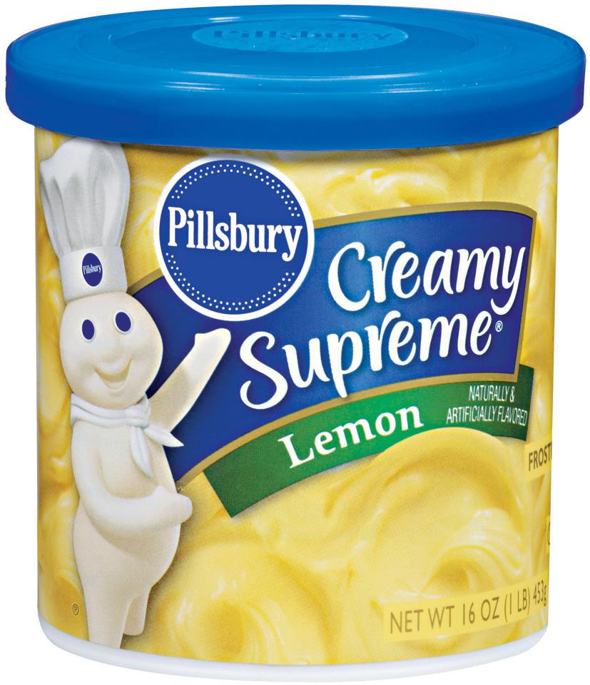 Pillsbury Creamy Supreme Lemon Frosting