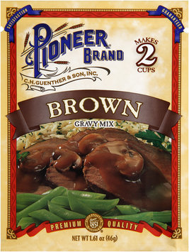 Pioneer® Brand Brown Gravy Mix 1.61 oz. Packet