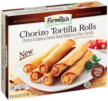 FarmRich® Chorizo Tortilla Rolls 28 oz. Box