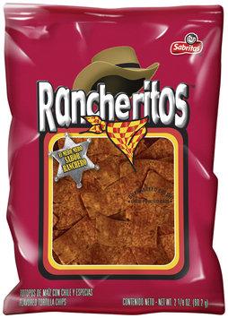 Rancheritos™ Sabritas™ El Mero Mero Sabor Ranchero Flavored Tortilla Chips 5.5 oz