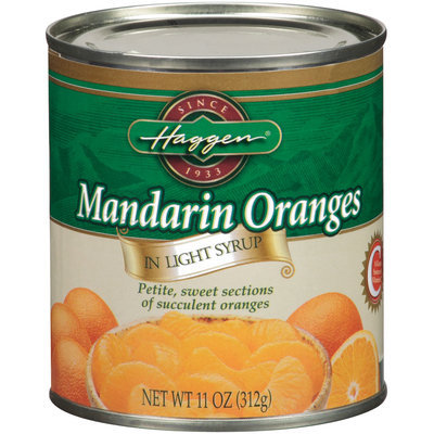 Haggen In Light Syrup Mandarin Oranges 11 Oz Can