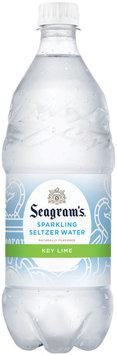 Seagram's Key Lime Sparkling Seltzer Water 1L Plastic Bottle
