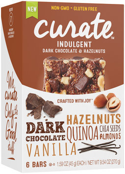Curate™ Indulgent Snack Bars 6-1.59 oz. Packs