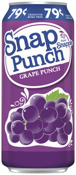Snapple Snap Punch Grape Punch Juice