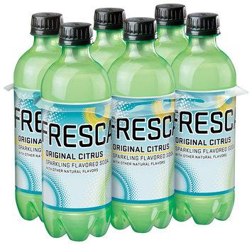 Fresca Citrus Soda 6-0.5 L Plastic Bottles