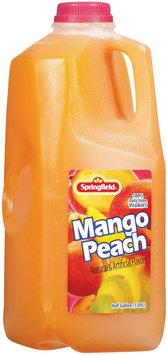 Springfield Mango Peach Juice 1.89 L Plastic Bottle