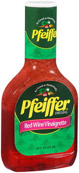 Pfeiffer® Red Wine Vinaigrette Dressing 16 fl. oz.