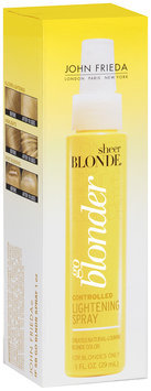 John Frieda Sheer Blonde® Go Blonder Controlled Lightening Spray 1 fl. oz. Bottle