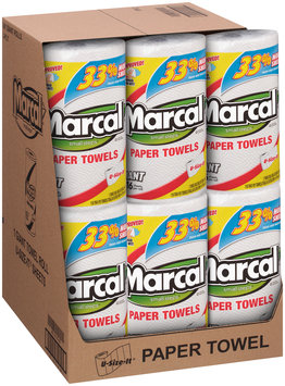 Marcal® Giant 2-Ply U-Size-It® 116-Sheet Single Roll Paper Towels 24-1 ct Packs