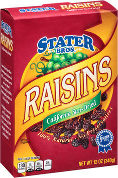 Stater Bros.® California Sun-Dried Raisins