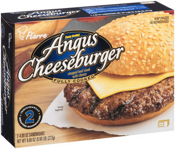 Pierre™ Flame Broiled Angus Cheeseburger