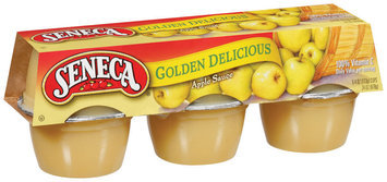 Seneca Golden Delicious 4 Oz Apple Sauce 6 Ct Carded Pk