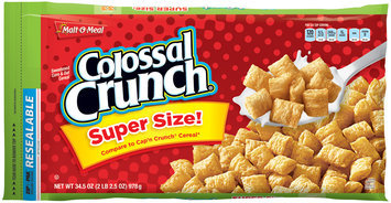 Malt-O-Meal® Colossal Crunch® Cereal 34.5 oz. ZIP-PAK®