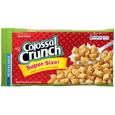 Malt-O-Meal® Colossal Crunch® Cereal 34.5 oz. ZIP-PAK®