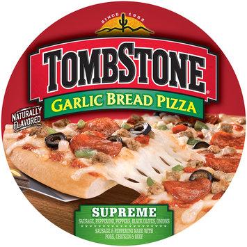 tombstone garlic bread supreme pizza