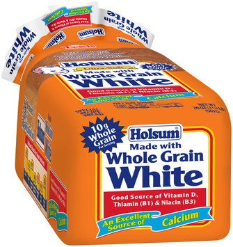 Holsum® Made with Whole Grain White Bread 20 oz. Loaf