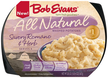 Bob Evans® Savory Romano & Herb Mashed Potatoes 20 oz. Tray