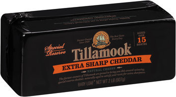 Tillamook® Special Reserve Extra Sharp Cheddar Cheese 2 lb. Baby Loaf®