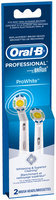 Professional White Oral-B ProWhite Replacement Electric Toothbrush Head 2 Count
