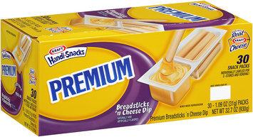 Kraft Handi-Snacks Premium Breadsticks 'n Cheese Dip 30-1.09 oz. Snack Packs