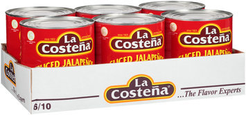 La Costena® Green Pickled Sliced Jalapeno Peppers 6-91.7 oz. Cans