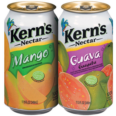 Kern's Guava/Mango  Group Shot 11.5 Fl Oz Cans