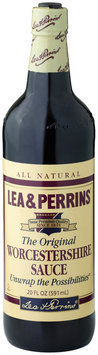LEA & PERRINS The Original Worcestershire Sauce 20 OZ GLASS BOTTLE