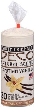Deco Natural Scents Tahitian Vanilla/Mountain Heather/Fresh Cut Lemon 13 Gal Large Tall Kitchen Bags 30 ct Bag