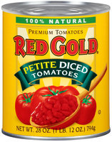 Red Gold® Petite Diced Tomatoes 28 oz. Can