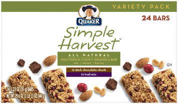 Simple Harvest Variety Pack 1.23 Oz Granola Bars 24 Ct Box