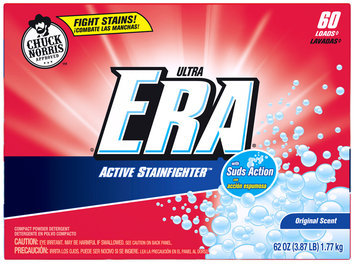 Era Ultra Active Stainfighter Original Powder Laundry Detergent 62 oz. Box