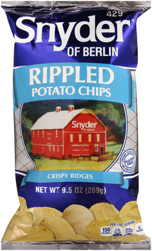 Snyder of Berlin® Rippled Potato Chips 9.5 oz. Bag