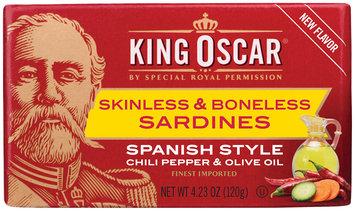 King Oscar® Spanish Style Skinless & Boneless Sardines 4.23 oz. Tin