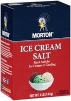 Morton® Ice Cream Salt 4 lb.