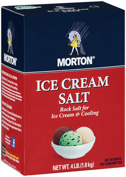 Morton® Ice Cream Salt 4 lb.