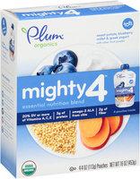 Plum Organics® Mighty 4™ Sweet Potato, Blueberry, Millet & Greek Yogurt 4-4 oz. Pouches