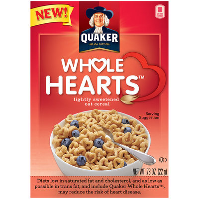 Quaker® Whole Hearts Cereal