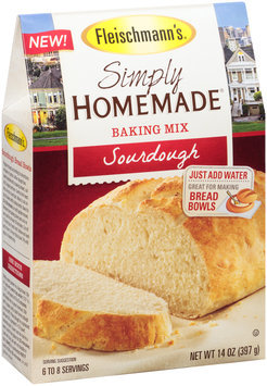Fleischmann's® Simply Homemade® Sourdough Baking Mix 14 oz. Box