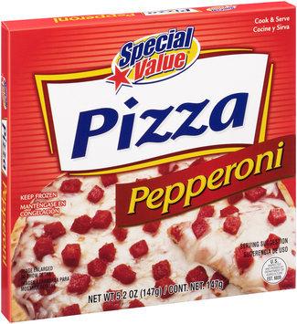 Special Value® Pepperoni Pizza 5.2 oz. Box
