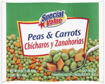 Special Value  Peas & Carrots 16 Oz Bag