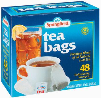 Springfield Premium Blend Leaf Tea Bags 48 Ct Box