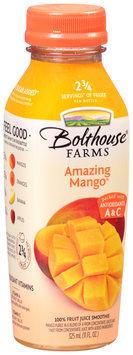 Bolthouse Farms® Amazing Mango® 100% Fruit Juice Smoothie 11 fl. oz. Bottle