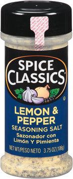 Spice Classics® Lemon & Pepper Seasoning Salt 3.75 oz. Shaker